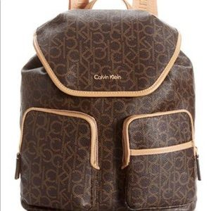 Calvin Klein Hudson Monogram Backpack